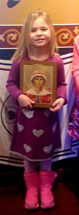 AbigailK holding her icon
