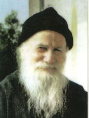 St. Porphyrios spoke at length about divine love. And I can't help noticing that in most of the pictures of him, that love is written on his face.