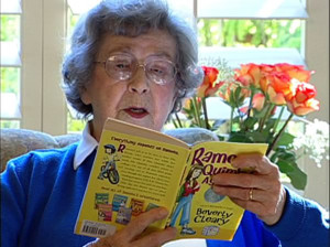 Beverly Cleary reading