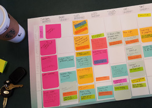 """Vanessa"" was so complicated that I had to resort to a calendar and color-coded sticky notes to keep it all straight!"