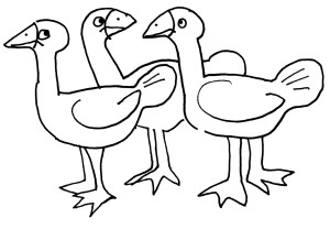 doodle_geese